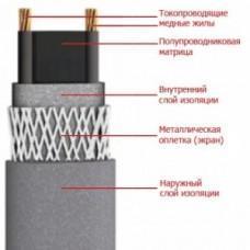 Саморегулир. нагр. кабель SRL 16-2 (With coil) 16Вт/м ОУ 220В полиолефин